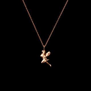 「MINI FAIRY」Necklace SV925 Pinkgold Coating