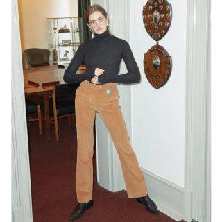 Corduroy Semi Bootscut Pants