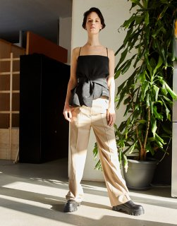 Tailored straight Trousers