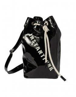[35%OFF]Enamel bucket bag