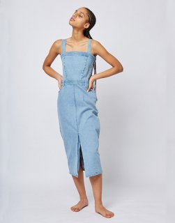 [30%OFF]Slim denim dress