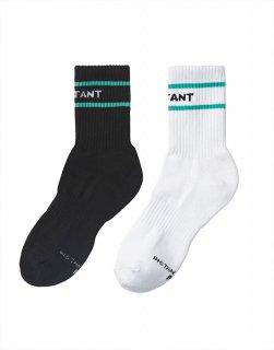 Logo crew socks 2Pack