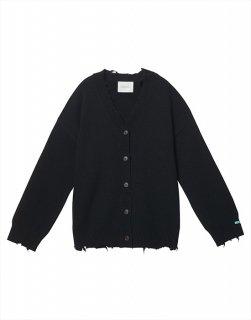 Vintage wool-blend cardigan