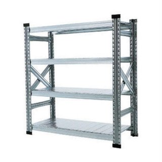 【METALSISTEM】4TIER STEEL SHELF W900