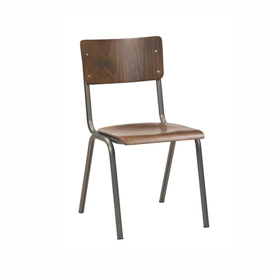 【CIGNINI】SUSY CHAIR /BEECH STAINNED DARK WALNUT