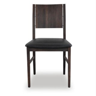 【SQUARE ROOTS】ESKA CHAIR /BLACK LEATHER
