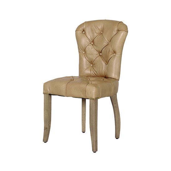 HALO CHESTER CHAIR WEATHERED OAK LEG TINOSSI CAMEL