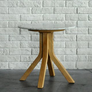 【BLEU NATURE】 STONE TALL SIDE TABLE