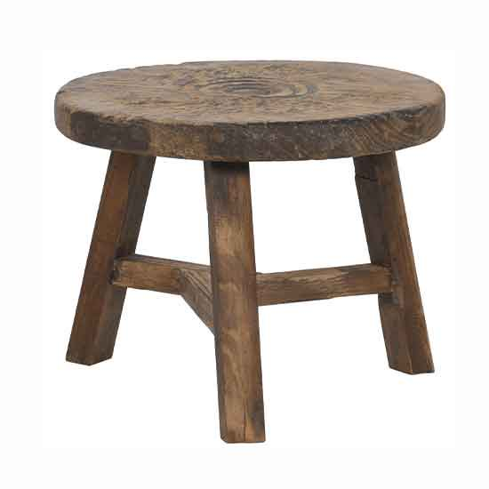【NOBLE SOULS】ABODE RECLAIMED ROUND COFFEE TABLE