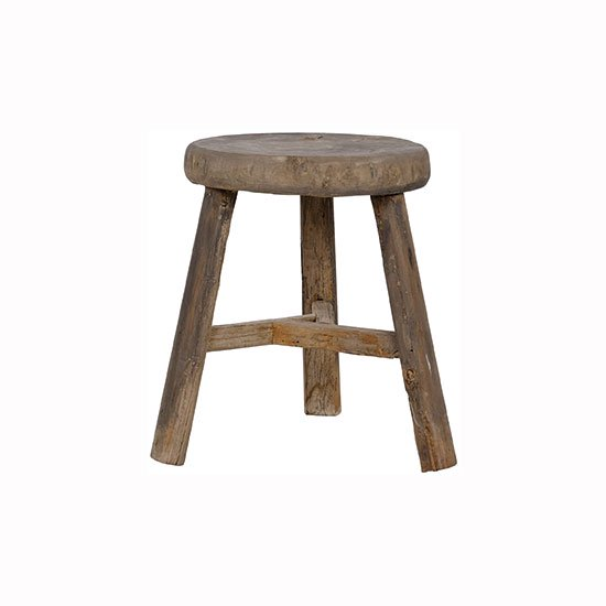 NOBLE SOULS ABODE THICK TOP STOOL