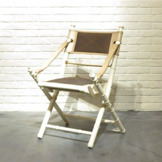 【P&B】CAMPAIGN CHAIR /WH