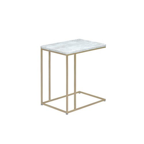 【SHOP ASPLUND×FLYMEe】COLOR STONE SIDE TABLE CRYSTAL WHITE