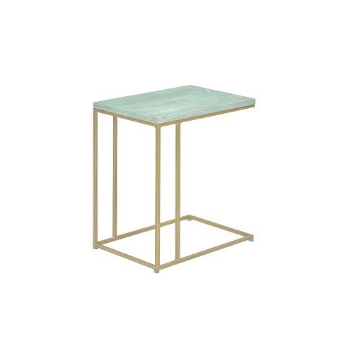 【SHOP ASPLUND×FLYMEe】COLOR STONE SIDE TABLE SEA FORM GREEN