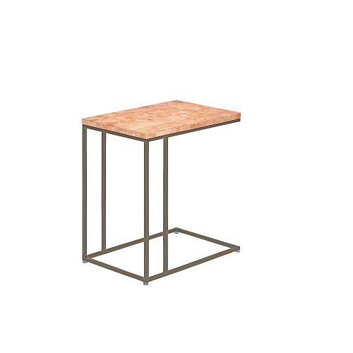 【SHOP ASPLUND×FLYMEe】COLOR STONE SIDE TABLE SALMON PINK