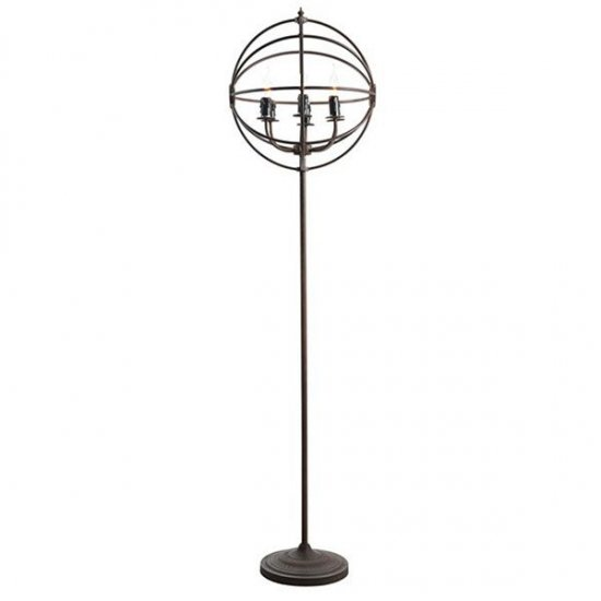 【HALO】GYRO ANTIQUERUST FLOOR LAMP