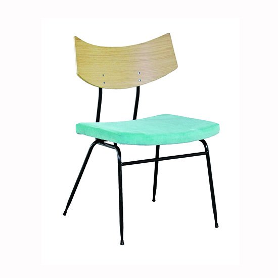 【SQUARE ROOTS】SOLI CHAIR /RAW OAK AQUA FABRIC