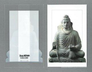[三つ折クリアファイル]仏陀坐像