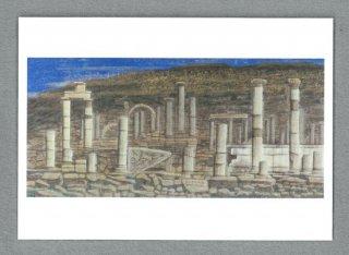 [絵はがき]古代ローマの遺跡 エフェソストルコ(左)