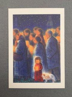 [絵はがき]祈りの行進・聖地ルルド