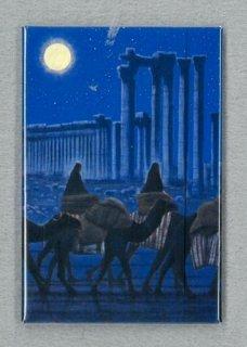 [アートマグネット]パルミラ遺跡を行く(夜)