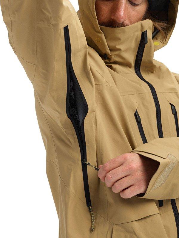 19/20モデル Men's Burton [ak] GORE-TEX Pro 3L Hover Jacket #Kelp [100091]