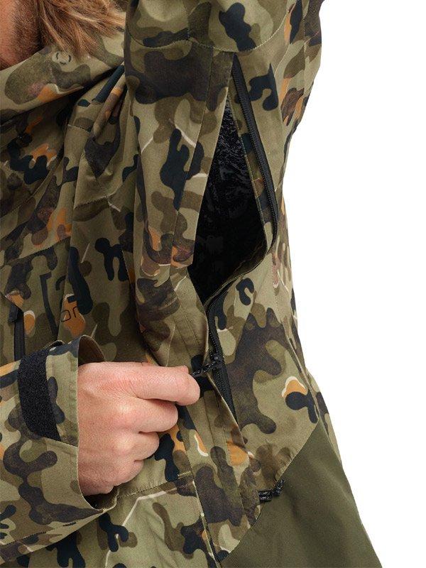 19/20モデル Men's Burton [ak] GORE-TEX Velocity Anorak Jacket #Keef Shelter Camo [149791]