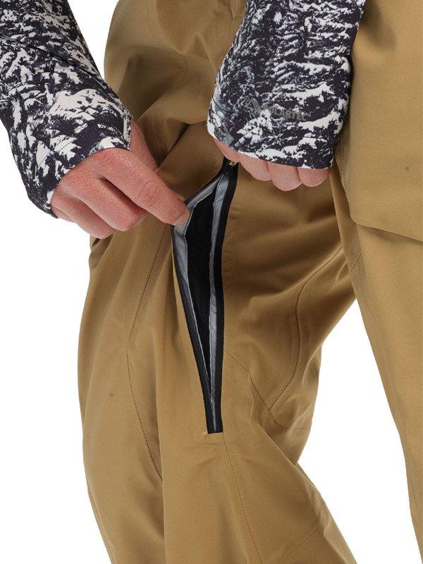 19/20モデル Men's Burton [ak] GORE-TEX 3L Freebird Bib Pant #Kelp [100241]
