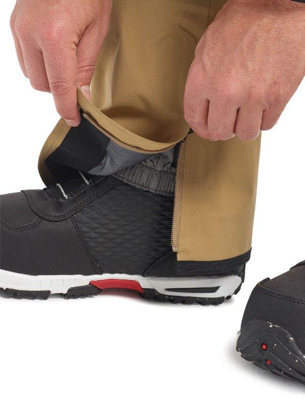 19/20モデル Men's Burton [ak] GORE-TEX Pro 3L Hover Pant #Kelp [100231]