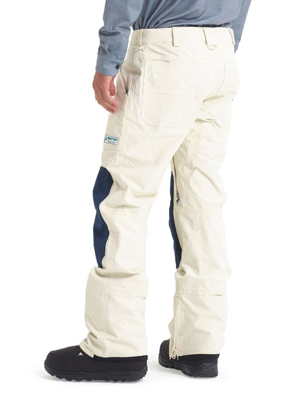 19/20モデル Men's Burton Southside Pant - Regular Fit #Almond Milk / Dress Blue [101921]