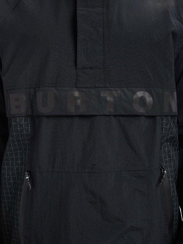 19/20モデル Men's Burton Frostner Anorak #True Black / True Black Ripstop [214701]