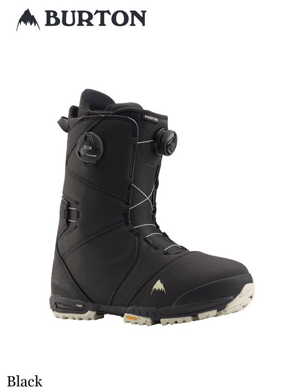 19/20モデル Men's Burton Photon Boa Wide Snowboard Boot #Black [206851]