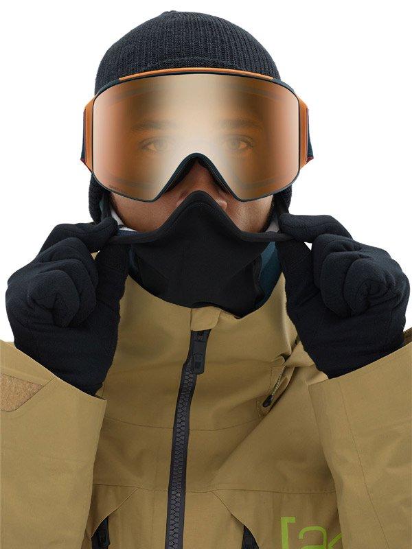 Men's Anon M4 Cylindrical Goggle AF + Spare Lens + MFI Face Mask #Frame:Royal [203401]
