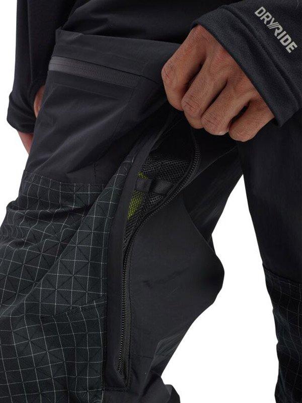 19/20モデル Men's Burton Frostner Pant #True Black/True Black Ripstop [214731]