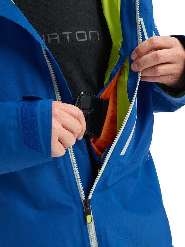 19/20モデル Men's Burton [ak] GORE-TEX Cyclic Jacket #Classic Blue [100021]