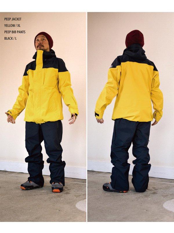 19/20モデル PEEP JACKET #Yellow