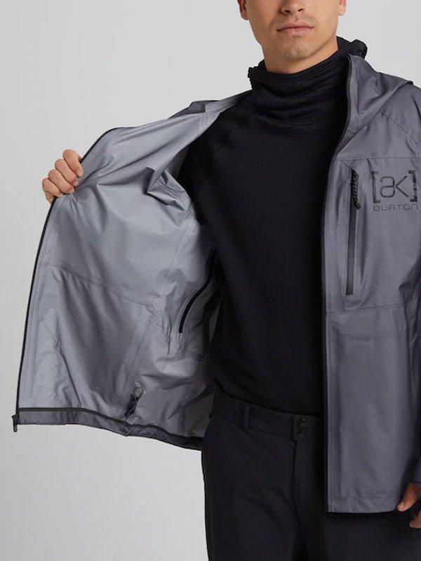 20春夏モデル Burton [ak] Three-Layer GORE-TEX Surgence Jacket #Nickel [216061]
