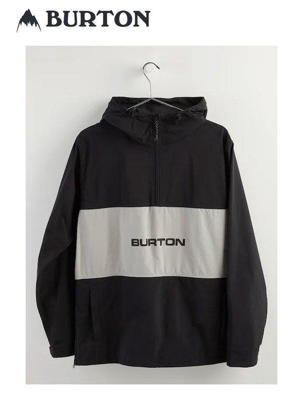 20春夏モデル Men's Burton Antiup Anorak Jacket #True Black [216071]