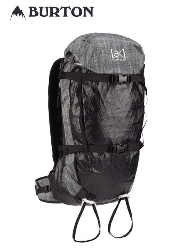 20春夏モデル Burton [ak] Incline Ultralight 22L Backpack #Black Heather [217801]