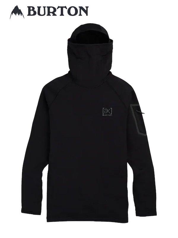 20春夏モデル Burton [ak] Polartec Grid Pullover Fleece #True Black [217371]