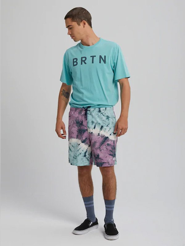 20春夏モデル Men's Burton Creekside Short #Ether Blue Tidal Dye [167481]