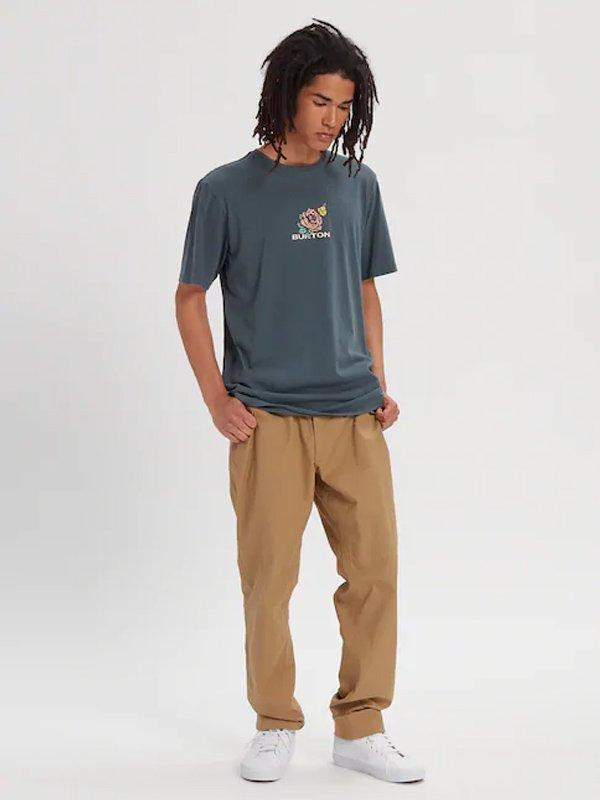 20春夏モデル Men's Burton Semisonic Short Sleeve T-Shirt #Dark Slate [217741]