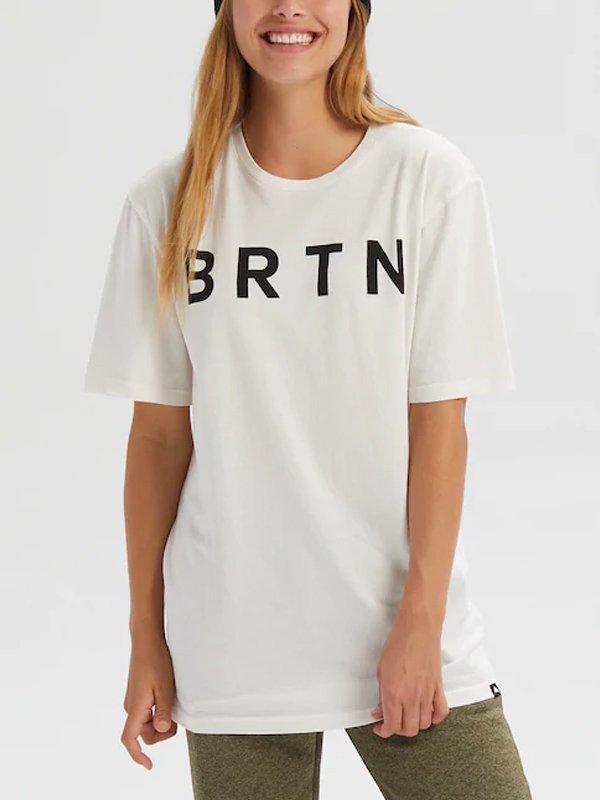 20春夏モデル Men's Burton BRTN Short Sleeve T-Shirt #Stout White [203751]