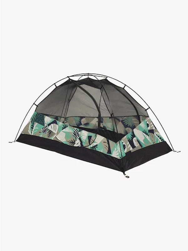 20春夏モデル Big Agnes x Burton Blacktail 2 Tent #Iron Gray Woodcut Palm [145411]