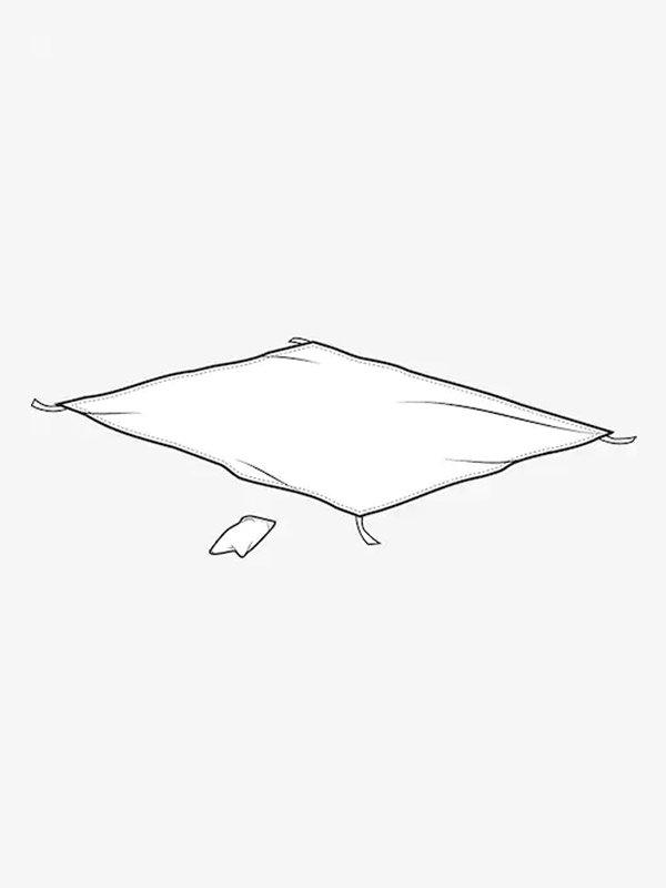 20春夏モデル Burton Blacktail Footprint #True Black [145451]