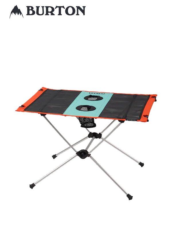 20春夏モデル Helinox x Burton Table One #Buoy Blue/Orangeade [167051]