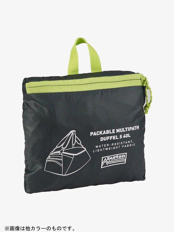 20春夏モデル Burton Multipath 40L Packable Duffel Bag #True Black [208521]