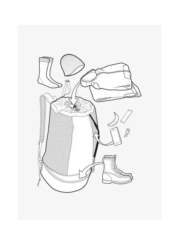 20春夏モデル Burton Beeracuda Gearhaus 42L Cooler Bag #Buoy Blue [217811]