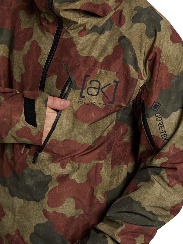 20/21モデル MEN'S [AK] GORE-TEX VELOCITY ANORAK JACKET #MRTN OLIVE T CAMO [149791]