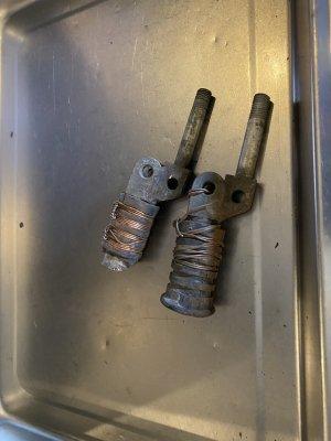 ドラムTZ ステップバー左右 加工あり、傷あり