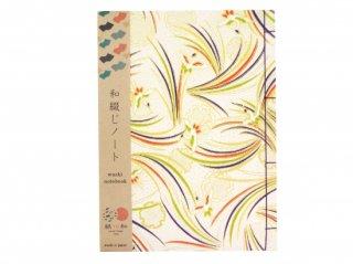 和綴じノート(鶴)
